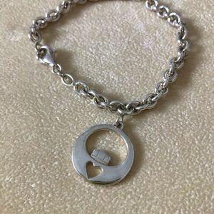 Irish Claddagh Solvar Sterling Silver Bracelet